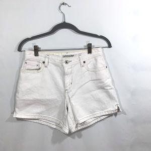 Ralph Lauren polo Saterday Jeans white denim short